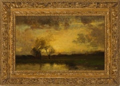 """Landscape with Trees and Pond"""