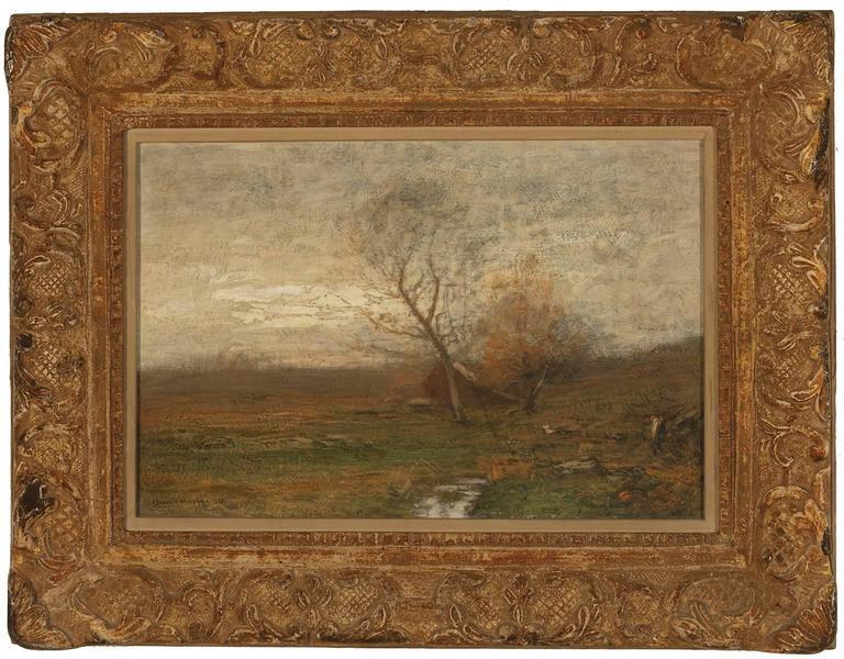 "John Francis Murphy Landscape Painting - ""Fall Landscape"""