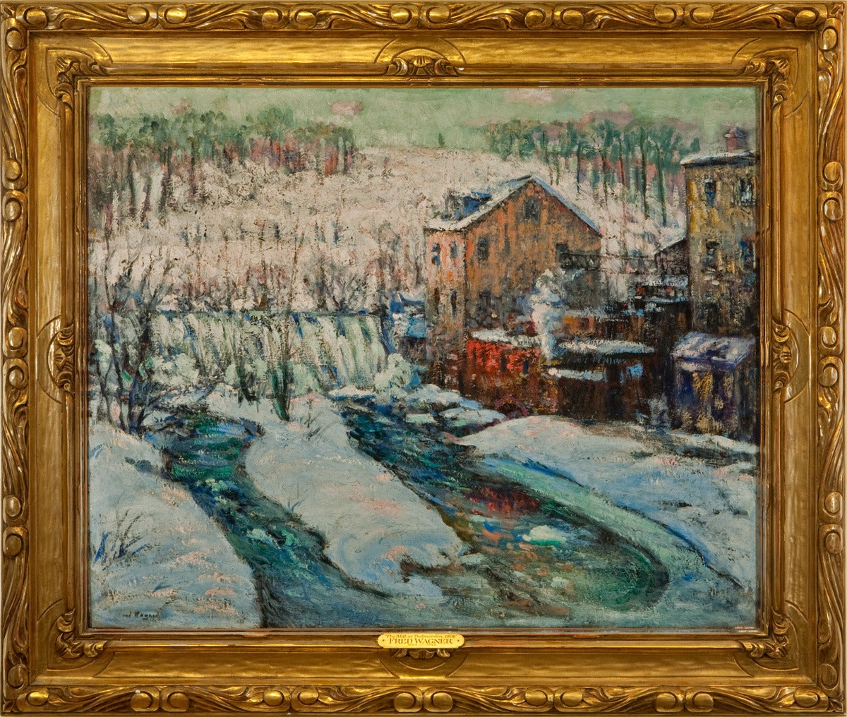 Fred Wagner Quot The Mill At Todmorden 1909 Quot For Sale At