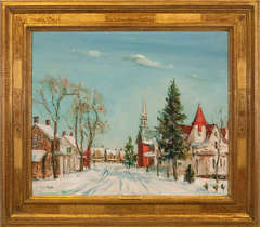 """""""Snow Covered Village"""""""