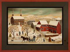 """Chicken Farm Winter, New Hope"""