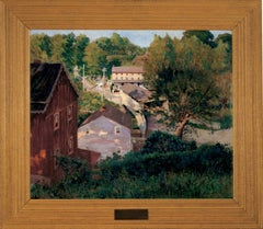 """The Covered Bridge, Point Pleasant (Pennsylvania)"""