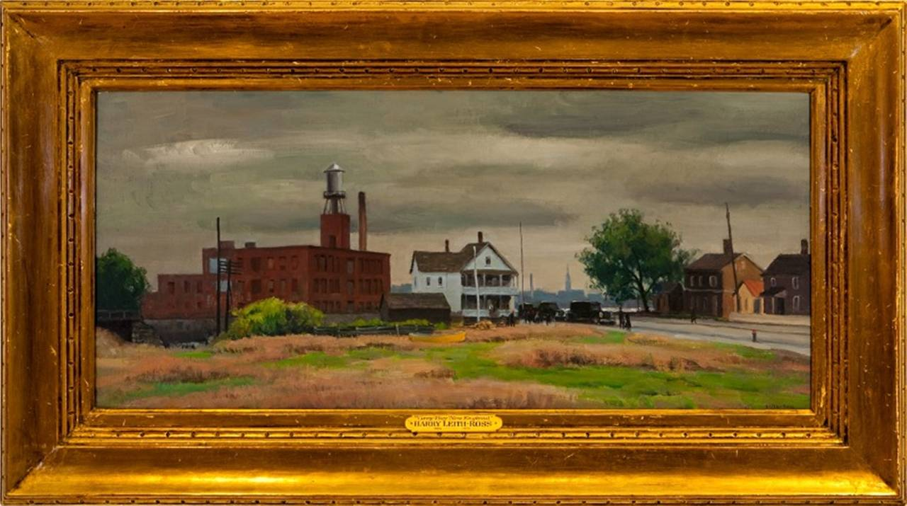 Harry Leith Ross Quot Gray Day New England Quot Painting For