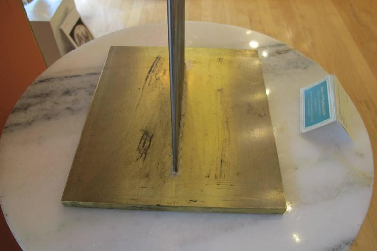 Jim's of Lambertville is proud to offer this artwork.   Signed on Base with No. B-1728   Val Bertoia  (born 1949)  Val Bertoia was born in Santa Monica, California in 1949. In the 1950s, his family moved from California to Pennsylvania where he has
