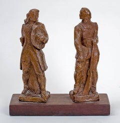 """""""Pair of Military Figures"""""""