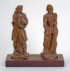 """Pair of Military Figures"""