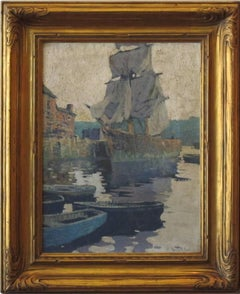 """Harbor Reflections, Gloucester"""