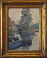 """""""Harbor Reflections, Gloucester"""""""