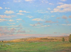 Inverness Fields / oil on canvas