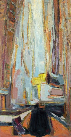 La Rue Noire / oil on canvas