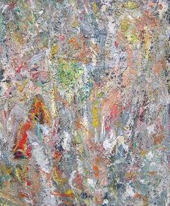 Akua No 5 / abstract oil on linen