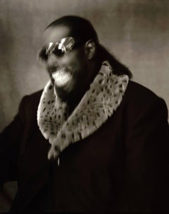 Barry White / iconic silver gelatin print - unique