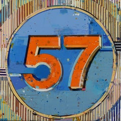California Dreamin' Number 57 - important painting contemporary pop