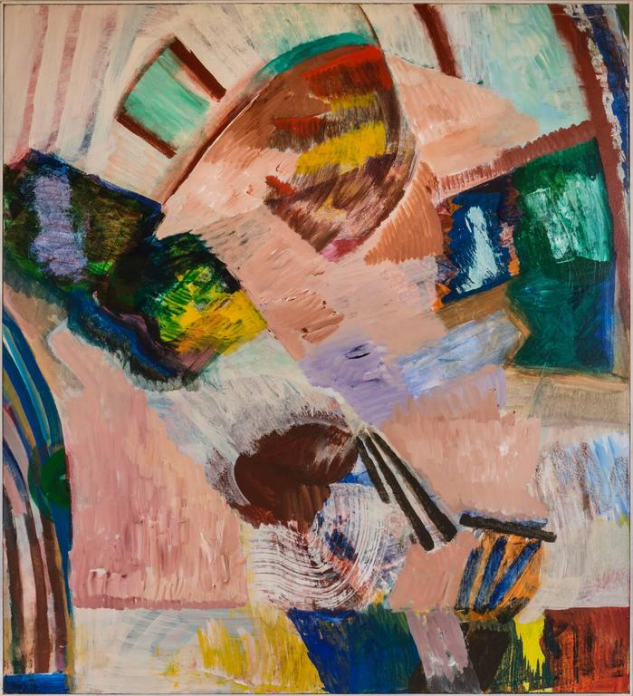 Elmer Nelson Bischoff - Untitled No 111 / acrylic on canvas 1