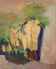 Desert Landscape / oil on canvas