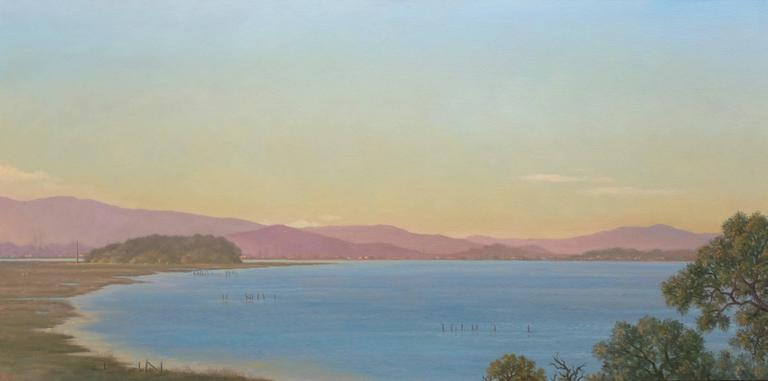 San Pablo Bay / oil on canvas