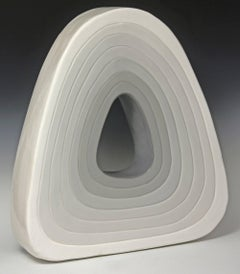 Donut / modernist ceramic sculpture