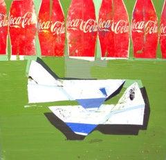 When We Were Children / Coke Work - Coca-Cola painting