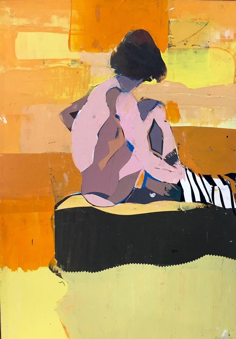 Kim Frohsin Figurative Painting - San Tropez Palette