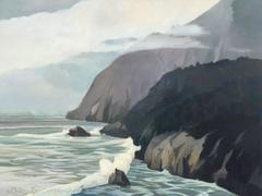 Coastline -  55 x 73 inches / On Sale