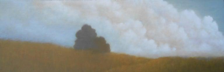 Donna McGinnis Landscape Painting - Cloud View / oil on canvas