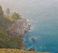 Big Sur / oil on canvas