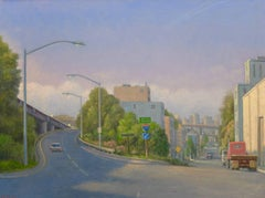 Entrance to the Freeway  / oil on canvas