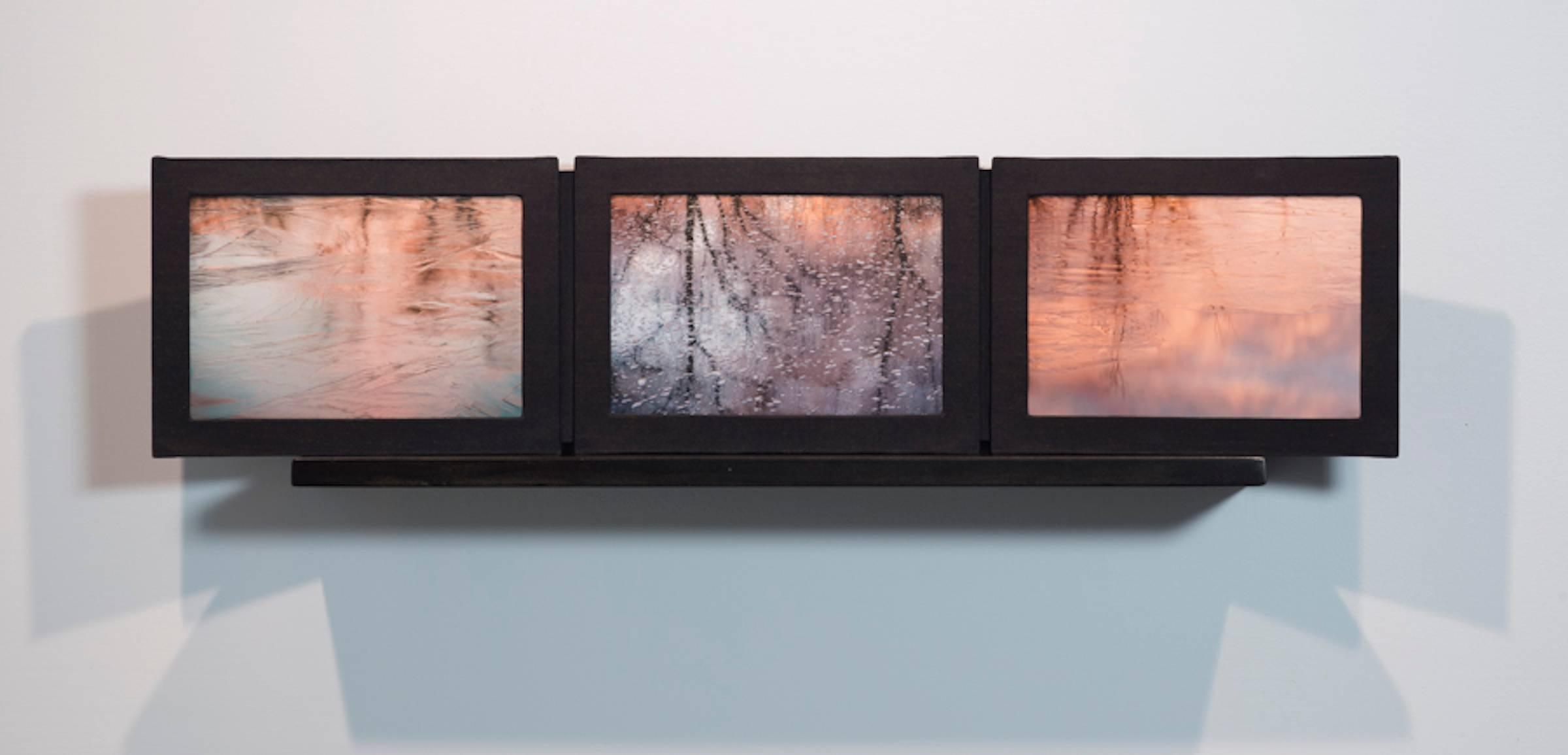 Virgin Ice Sunrise / sculptural photographic book