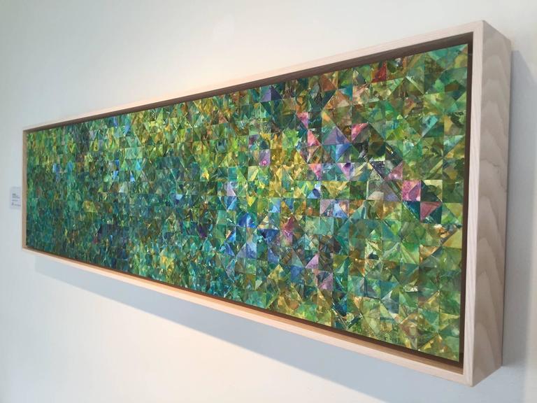 Enigma in Green - Art by Irene Zweig