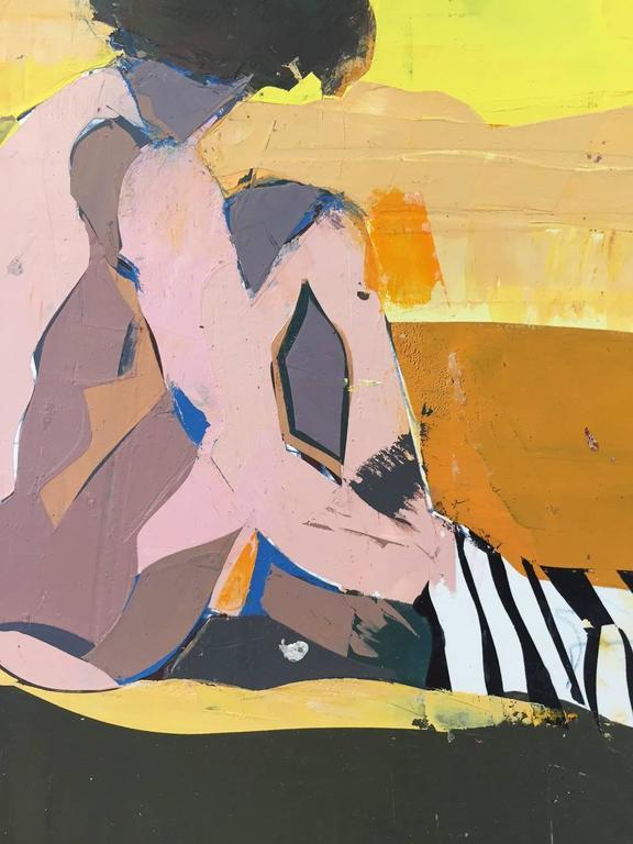 San Tropez Palette - Painting by Kim Frohsin
