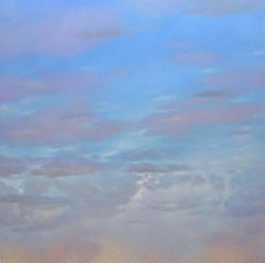 Blue Sky / oil on canvas painting