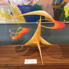 Loop Hopper / stabile mobile sculpture