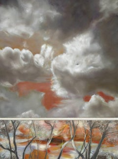 Invitation au voyage / diptych - oil on linen