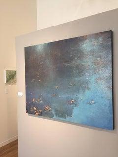 Blue Morning / oil on linen over wood