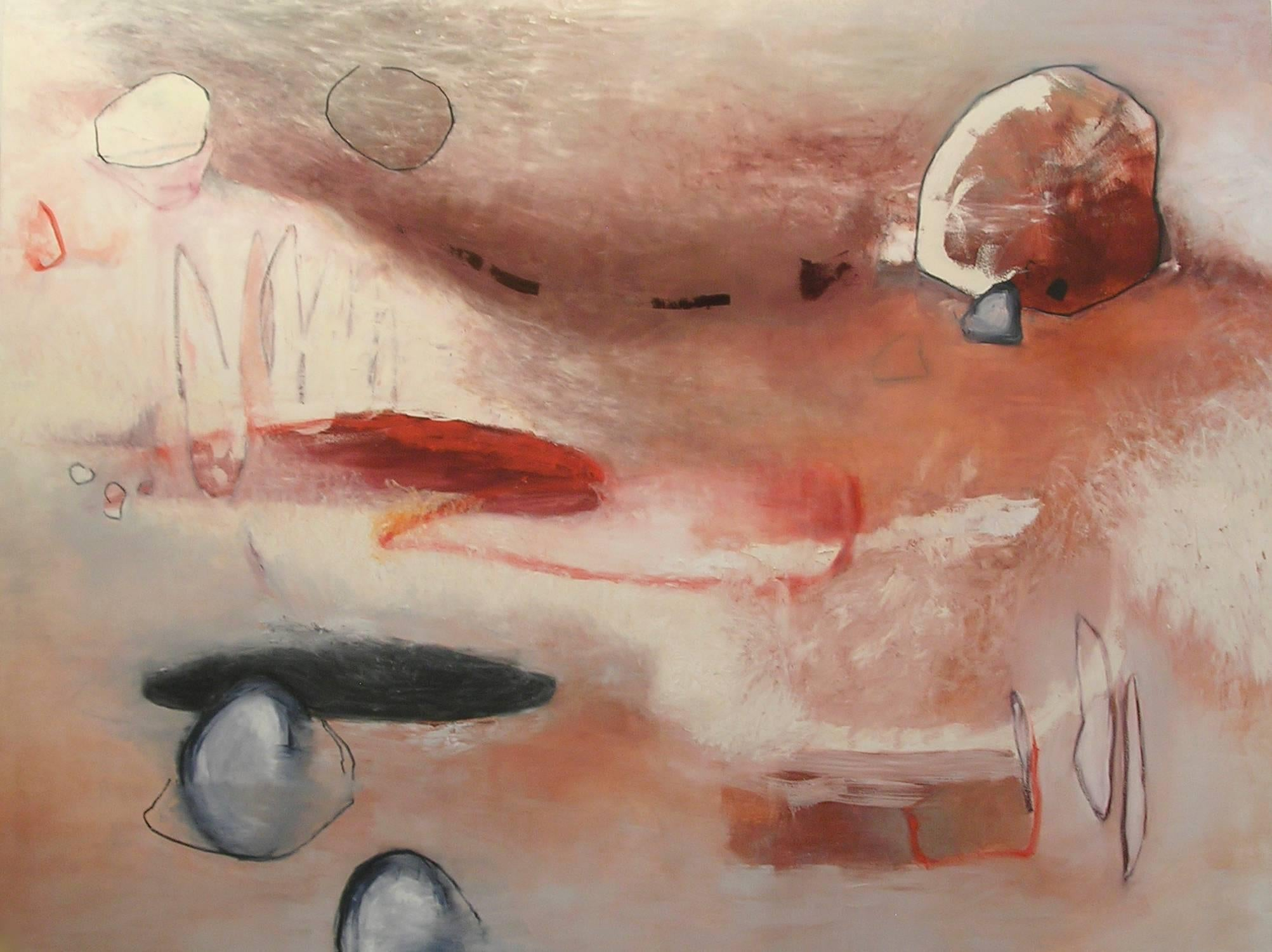 Transposition 2 - oil on canvas 72 x 96 inches