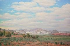Big Sky / oil on canvas
