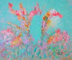 Nature's Bouquet / oil on canvas