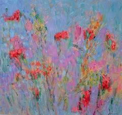 Alizarin Iris / oil on canvas