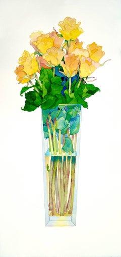 Yellow Roses / watercolor