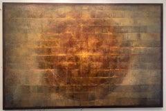 Ajanta Moon / oil on canvas
