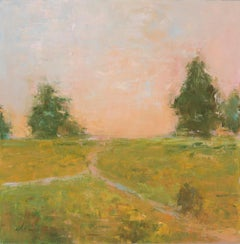 Landscape: High Noon / oil painting - contemporary
