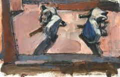 A Warm Disparity / still life painting heels