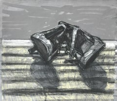 Two Pools  / still life painting women's heels