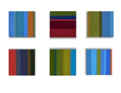 """""""2015 Color Meditations"""" - Series of 6 Abstract Oil Paintings"""