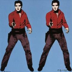 Elvis (Blue), porcelain platter (Rosenthal Studio Line)