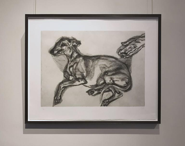 Pluto Aged Twelve - Contemporary Print by Lucian Freud
