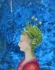 Woman with Plants on her Mind