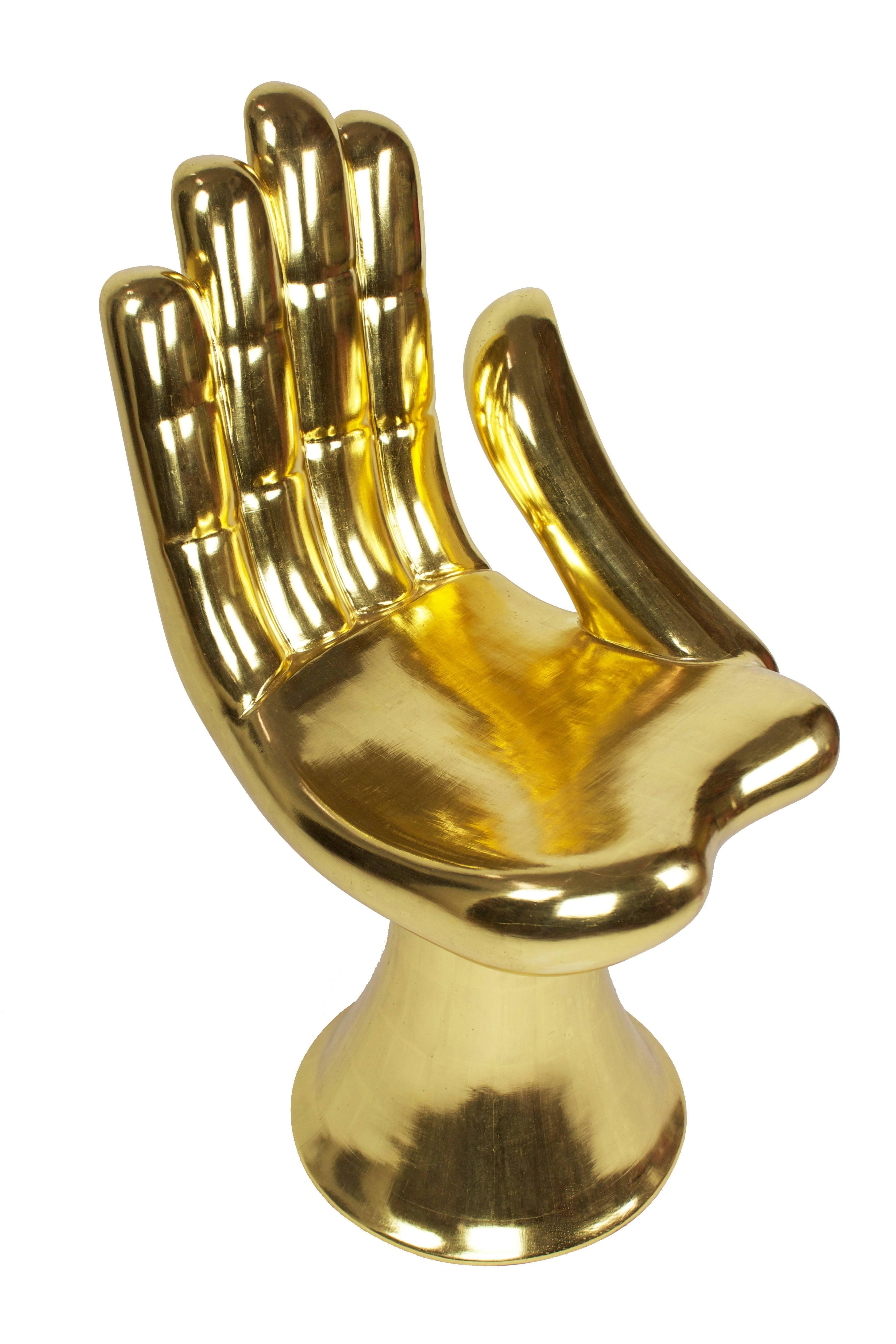 Gold Hand Chair - Chair Design Ideas
