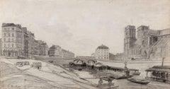 Pont au Double, Notre Dame, and Hôtel Dieu