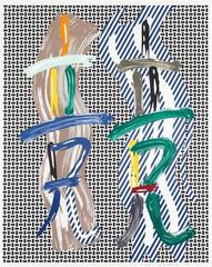 Roy Lichtenstein - Brushstrokes Contest